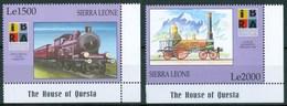 1999 Sierra Leone Treni Trains Railways Set MNH** Spa RR61 - Sierra Leone (1961-...)