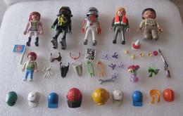 PLAYMOBIL : Lot De 5 Figurines Avec Accessoires - Playmobil