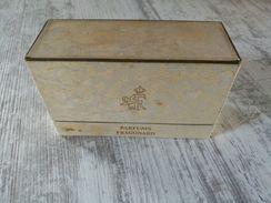 ANCIENNE BOITE Avec Miniature ( Vide ) PARFUMS FRAGONARD ( CARESSE . LE CINQ . SI JOLIE ) - Vintage Miniatures (until 1960)