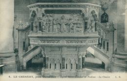 78 LE CHESNAY / Eglise Sainte Antoine De Padoue, La Chaire / - Le Chesnay