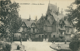 78 LE CHESNAY / Château Du Manoir / - Le Chesnay
