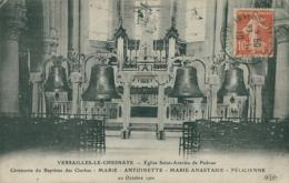 78 LE CHESNAY / L'Eglise Saint Antoine De Padoue, Ceremonie Du Baptême Des Cloches, 20 Octobre 1910 / - Le Chesnay
