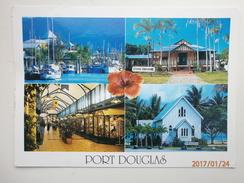 Postcard Port Douglas North Queensland Multiview With 2000 Olympic Cancel My Ref B226 - Australia
