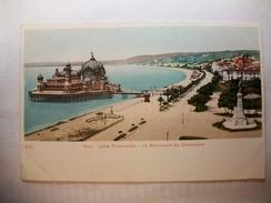 Carte Postale Nice (03) IJetée Promenade - Le Monument Du Centenaire (CPA Dos Non Divisé,Non Circulée) - Nice