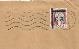 EA TYPO Sur Decaris, AIN BESSEM MEDEA Algérie Sur DEVANT D'enveloppe. 3/11/1962 - Algérie (1962-...)