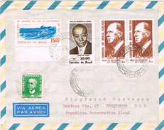 22080. Carta Aerea CURITIBA (Parana) Brasil 1965. Stamps DE GAULLE - Brasil