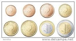 @Y@  Nederland    Serie  2010   1 Ct - 2 Euro   UNC  8  Munten - Nederland