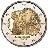 "ESLOVAQUIA  2€ 2.017  2017 ""ISTROPOLITANA"" Bimetalic UNCirculated  T-DL-12.032 - Slowakei"