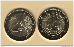 @Y@  Litouwen  2 Euro Commemorative    2016  UNC - Lithuania