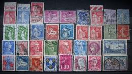 Frankreich Markenlot Ab 1900 Mit Porto Gestempelt       (R81) - 1932-39 Paix
