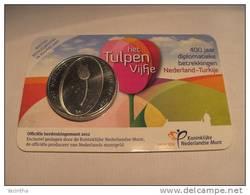 @Y@   Nederland   5 Euro  2012 Tulpenvijfje  In Coincard - Pays-Bas
