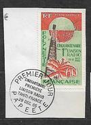 FRENCH POLYNESIA, POLYNESIE  YVERT PA 16 VF USED. RADIO. - Poste Aérienne