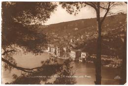 Villefranche-sur-Mer - A Travers Les Pins - Real Photo - 1929 - Villefranche-sur-Mer