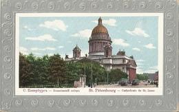 CPA С Петербугь Saint-Pétersbourg Cathédrale De St-Isaac - Rusland