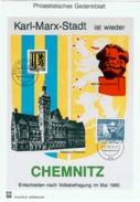 Philatelistisches Gedenkblatt DDR 31.08.1990 Michel 2859, 2506 - DDR