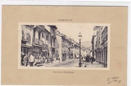 Savoie - Albertville - Rue De La République - Albertville