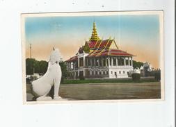 CAMBODGE 288 PHNOM PENH PALAIS ROYAL (VUE DE COTE) - Cambodge