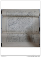 Carte D'Etat  Major   De Belfort N° 7-8     Dimensions   740 Mm X  900 Mm     Année 1939 - Carte Geographique