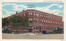 Nebraska Columbus Hotel Thurston Curteich - Columbus