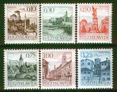 Yugoslavia 1971 Definitive Stamps MNH - 1945-1992 République Fédérative Populaire De Yougoslavie