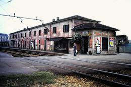 FERROVIE NORD FNM   MILANO-VECCHIA Stazione BOVISA MILANO 1987 - Diapositive