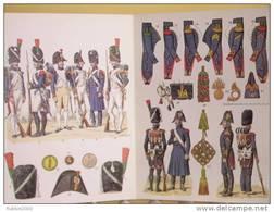 CHASSEUR A PIED DE LA GARDE 1800 1815 UNIFORME ARMEMENT EQUIPEMENT PAR ROUSSELOT EMPIRE BONNET BOUTON GIBERNE CAPOTE - Uniform