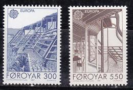 Féroé (Iles) 1987 N°Y.T. : 143 Et 144 ** - Féroé (Iles)