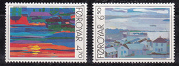 Féroé (Iles) 1987 N°Y.T. : 154 Et 155 ** - Féroé (Iles)