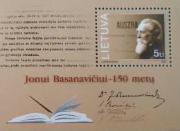 JONUI BASANAVICIU MEDECIN 2001 - NEUF ** - YT BL 25 - MI BL 24 - Lithuania