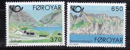 Féroé (Iles) 1991 N°Y.T. : 215 Et 216 ** - Féroé (Iles)