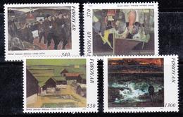 Féroé (Iles) 1991 N°Y.T. : 217 à 220 ** - Féroé (Iles)
