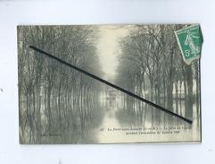 CPA - La Ferté Sous Jouarre (S-et-M) - Le Pâtis De Condé Pendant L'inondation De Janvier 1910 - La Ferte Sous Jouarre