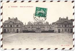 U1133 POITIERS HOTEL DE LA PREFECTURE  2 SCANS - Poitiers
