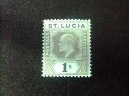 SAINTE-LUCIA ST LUCIA 1907 EDOUARD VII Yvert Nº 59 ** MNH - St.Lucia (...-1978)