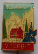 Alpinism, Mountaineering, Climbing - ROZ. KUKOVI, Croatia  PINS BADGES C - Alpinisme
