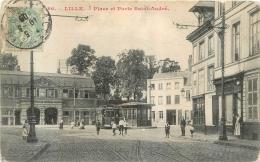 LILLE PLACE ET PORTE SAINT ANDRE - Lille