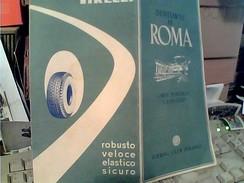 Cartoncino Esterno Cartina Stradale Dell ´italia DEL T.C.I.con Pubblicita Della PIRELLI 1950  FY11240 - Carte Stradali