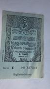 Ticket Entrée Comune Di Venezia . Biglietto D'ingresso PALAZZO DUCALE - Tickets D'entrée