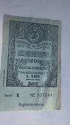Ticket Entrée Comune Di Venezia . Biglietto D'ingresso PALAZZO DUCALE - Tickets - Vouchers