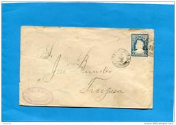 MARCOPHILIE -CHILI-lettre Entier Postal-5 Cent Bleu- Colon Cad TALCAHUANO-1901> Fraiguen - Chile