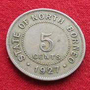 British North Borneo 5 Cent 1927 - Sonstige – Asien