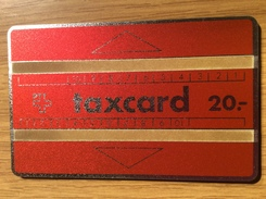 LOW Start Price  - 20 Sfr. Taxcard Red - Rs  Eurosignal  - Nr.  610 B  - PTT - Mint / Unused - Switzerland