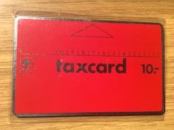 First Public Issue Switzerland 1981 !!    10 Sfr. Taxcard Red - Rs  Black - Nr.  C0 208 657  - PTT - Mint / Unused - Switzerland