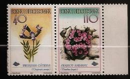 Bosnie Herzégovine Bosnia 1997 N° 233 / 4 ** Flore, Fleur, Oxytropis Prenja, Dianthus Freynii, Gazon, Oeillet - Bosnia Erzegovina