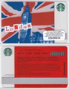Starbucks - UK - 2011 - CN 6071 London Big Ben SB13 - Gift Cards