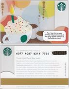 Starbucks - USA - 2012 - CN 6077 SB20 - Gift Cards