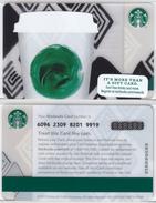 Starbucks - USA - 2013 - CN 6096 SB63 - Gift Cards
