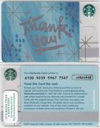 Starbucks - USA - 2014 - CN 6100 9239 SB50 - Gift Cards