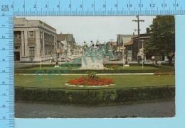 Charlottetown P.E.I. - First World War Memoriam, Cover Magnetic Hill 1964 N.B. - 2 Scans - Charlottetown