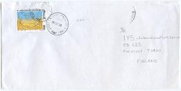 1996 FAO L. 850 ISOLATO 30.11.96 BUSTA PER FINLANDIA RARA DESTINAZIONE E OTTIMA QUALITÀ (6992) - 6. 1946-.. Repubblica